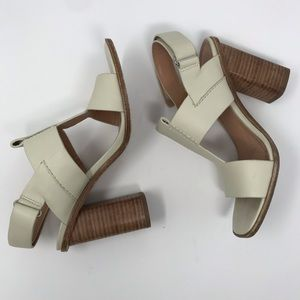 Sigerson Morrison chunky Heel Sandals - Size 7